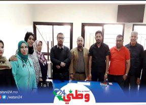 بـنـي مـلال/تأسيس الفرع المحلي للهيئة المغربية للشباب الملكي الصحراوي بزاوية الشيخ