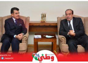 """في لقائه بالوزير عبيابة المدير العام للمنظمة """"إيسيسكو""""يشيد بجهود جلالة الملك محمد السادس"""