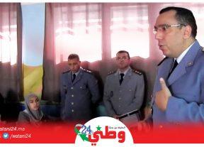"""وسط حضور وازن.. الكولونيل """"عبد القادر البطاني"""" ينال الدكتوراه وها فاش"""