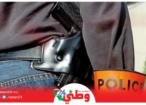 الشرطة تطلق الرصاص لتوقيف شخص عرض حياة المواطنين للخطر
