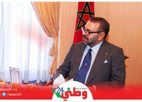 صاحب الجلالة يقيم مأدبة عشاء على شرف أعضاء الطائفة اليهودية المغربية والشخصيات المدعوة
