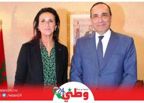 الحبيب المالكي يستقبل نائبة رئيس لجنة التنمية بالبرلمان الأوروبي