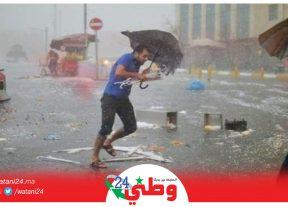 نشرة خاصة..أمطار رعدية محليا قوية وتساقطات ثلجية بالعديد من مناطق المملكة