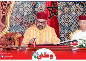 جلالة الملك محمد السادس يراسل الرئيس التنزاني وها علاش