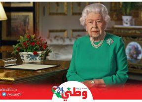 ملكة بريطانيا تتحدى فيروس كورونا وتشكر الطواقم الطبية