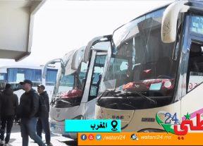 وزارة التجهيز والنقل تعلن عن إستئناف النقل العمومي