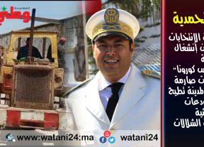 """المحمدية:سلطات زناتة""""الـشـلالات""""تطيح بالبناء العشوائي بتعليمات صارمة لعامل المدينة"""