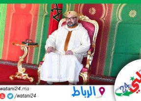 جلالة الملك يعزي الرئيس اللبناني على إثر انفجار مرفأ بيروت