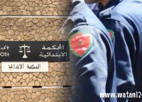 """إنفراد:إعتقال عنصرين من""""البلير""""في قضية""""دركي ومخزني""""الشلالات و الإهتداء إلى عصابة للنصب والإحتيال الإلكتروني"""