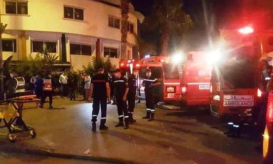 عاجل:حادث إنفجار قنينات الغاز بمصحة خاصة بالبيضاء لم يسجل أية إصابات بين صفوف نزلائها أو العاملين