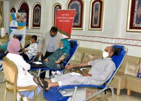 البيضاء:حملة لتبرع بالدم بعين الشق في زمن كورونا من أجل إنقاد أرواح المواطنين