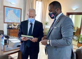 والي جهة طنجة تطوان الحسيمة يستقبل القنصل العام الأمريكي بالدارالبيضاء