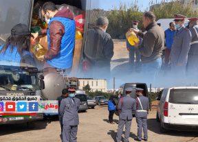 إعتقال ثلاثة أشخاص وفرار حارس السيارات بالشلالات نواحي المحمدية