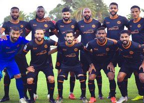 فريق نهضة بركان يتعادل مع ضيفه فريق شباب المحمدية 1-1