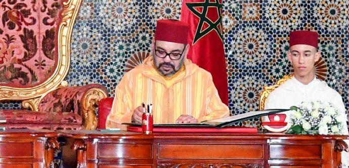 جلالة الملك يراسل رئيس جمهورية الدومينيكان