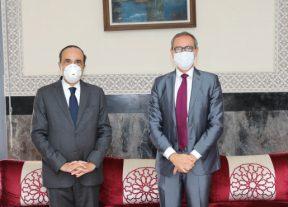 المالكي يستقبل الممثل المقيم لصندوق الأمم المتحدة للسكان بالمغرب
