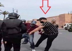 وكيل الملك بالرباط يتابع مُعنف الأساتذة في حالة إعتقال