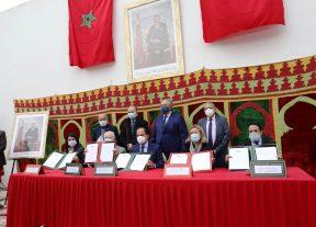 بحضور عزيز دادس توقيع إتفاقيتين لترسيخ قيم التسامح والتعايش لدى الناشئة بالدارالبيضاء