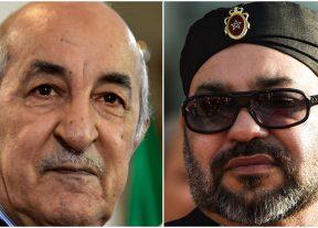 جلالة الملك يتوصل ببرقية تهنئة من الرئيس الجزائري