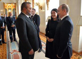 جلالة الملك يهنئ الرئيس الروسي بمناسبة العيد الوطني لبلاده