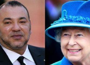 جلالة الملك محمد السادس يهنىء الملكة إليزابيت الثانية بمناسبة عيد ميلادها