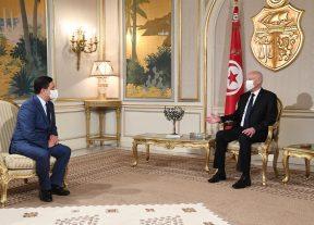 بالصور..رسالة من جلالة الملك محمد السادس إلى رئيس الجمهورية التونسية