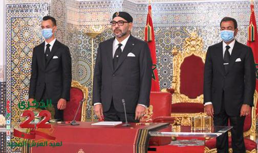 جلالة الملك يدعو الجزائر للعمل سويا دون شروط  من أجل بناء علاقات ثنائية أساسها الثقة والحوار وحسن الجوار