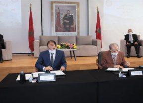 الرباط:توقيع اتفاقية تعاون وشراكة بين مؤسسة وسيط المملكة والمنظمة العلوية لرعاية المكفوفين بالمغرب